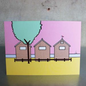 card-beach-huts-studland